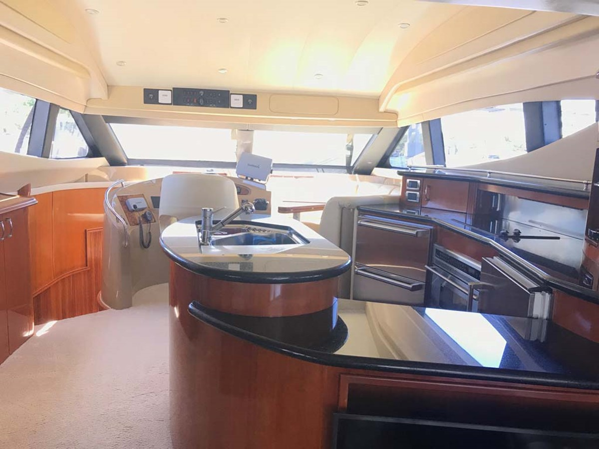 Galley 2004 MARQUIS Flybridge Motor Yacht Motor Yacht 2673368
