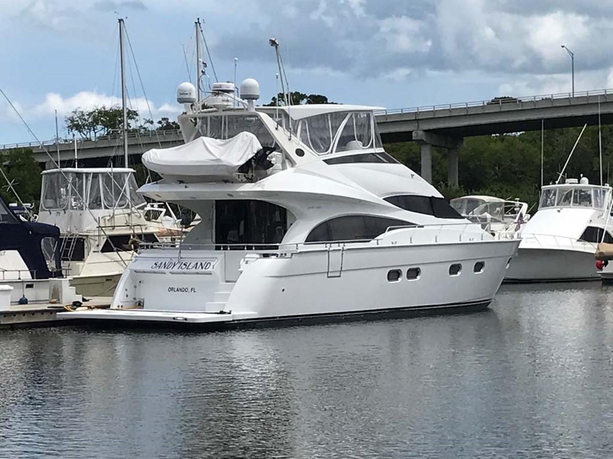 Starboard Bow 2004 MARQUIS Flybridge Motor Yacht Motor Yacht 2673396
