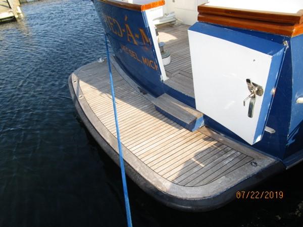 1969 BURGER Flushdeck Motoryacht Motor Yacht 2650329