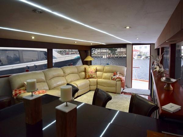 1989 HATTERAS Cockpit Motoryacht (1989/2015) Motor Yacht 2650729