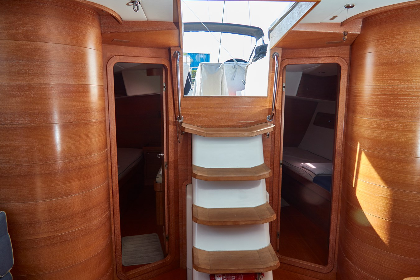 Stairs to upper level 2010 TRIPP Tripp 65 Cruising Sailboat 2650935