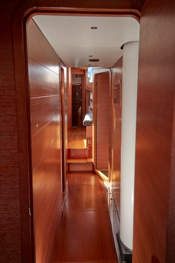 Hallway to cabins 2010 TRIPP Tripp 65 Cruising Sailboat 2650940
