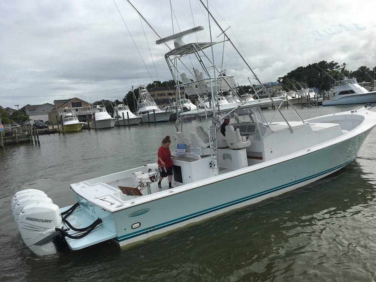 Chesapeake 53 2017 Stbd Side - 53 Chesapeake Custom For Sale