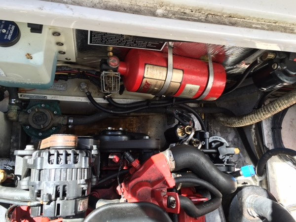 Engine with Fire Extinguisher 2007 FOUR WINNS 258 Vista Cruiser 2659757
