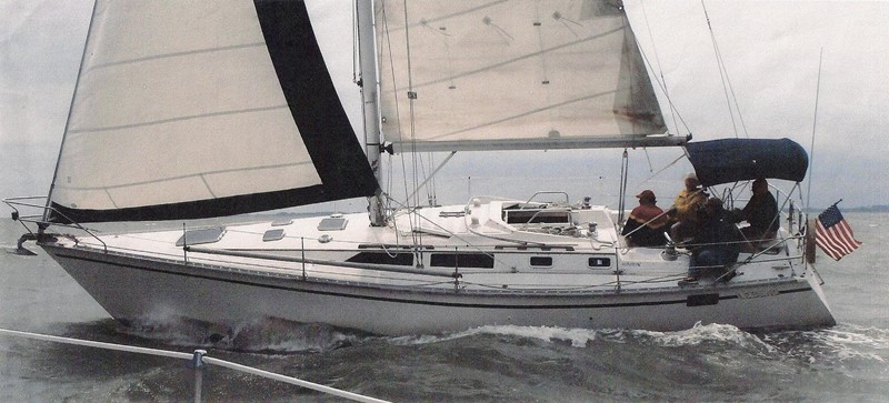 1989 HUNTER 40 Legend Sloop 2661349