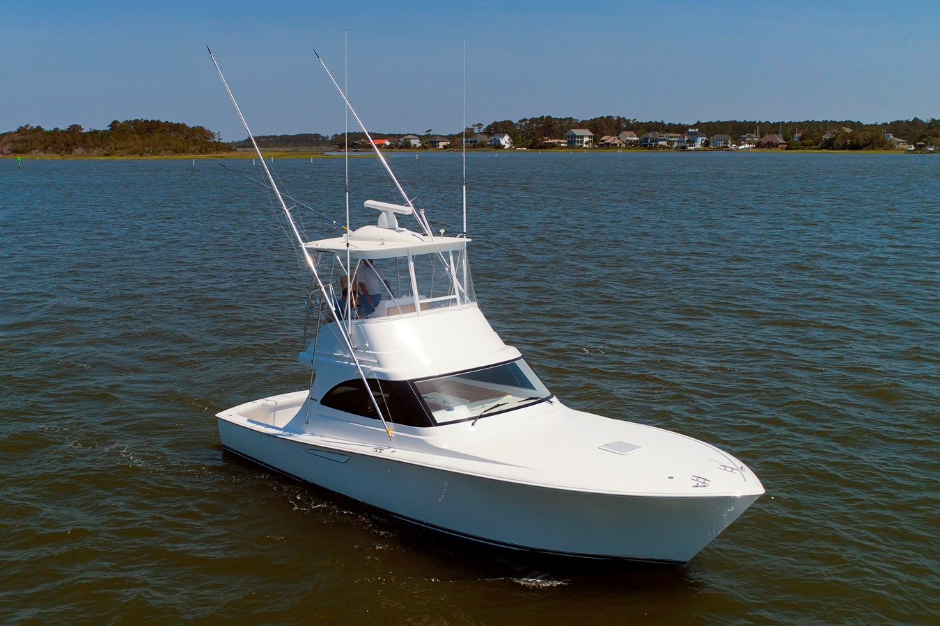 Viking 38 Billfish Starboard Bow - 38 VIKING For Sale