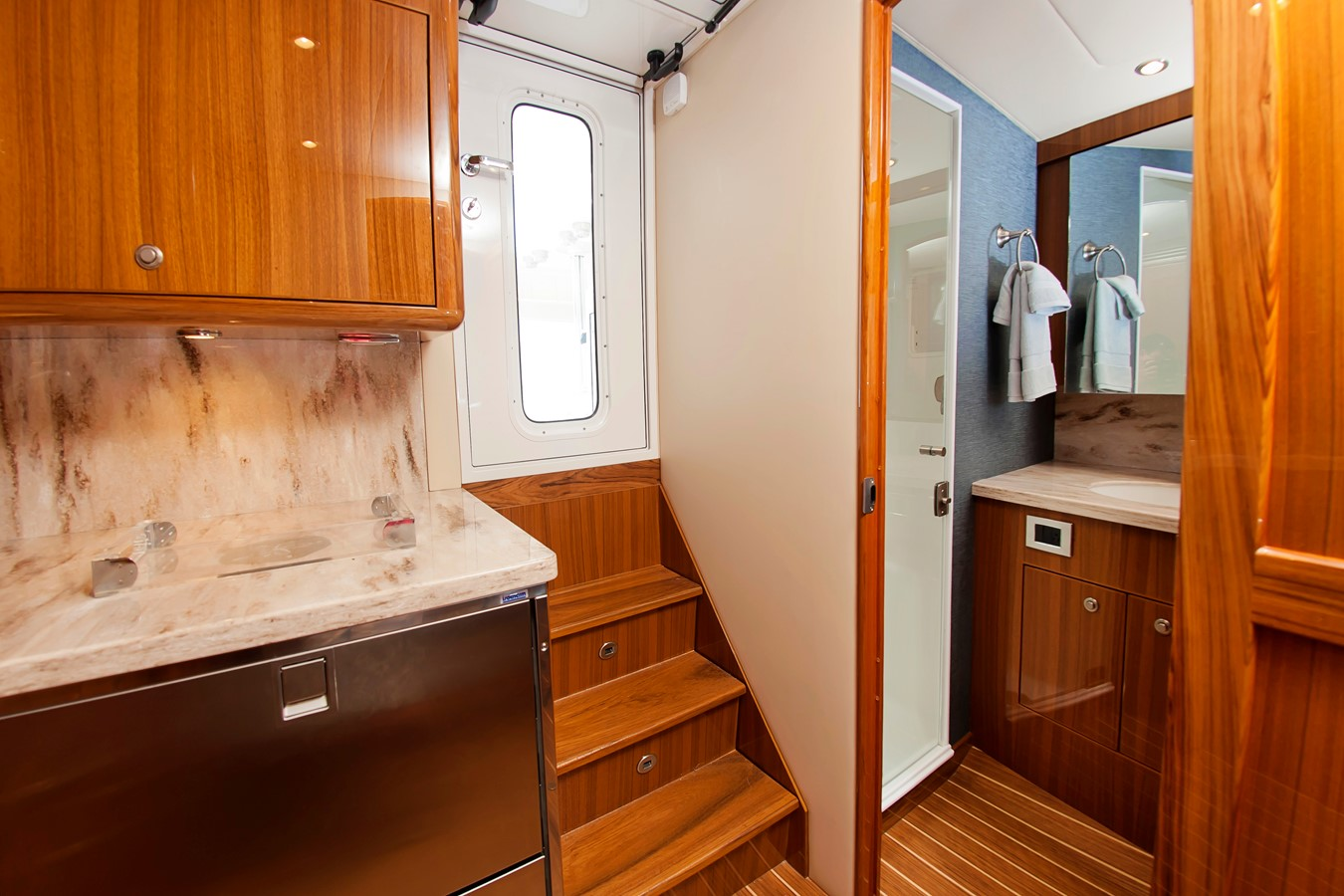 Interior Entry - 38 VIKING For Sale
