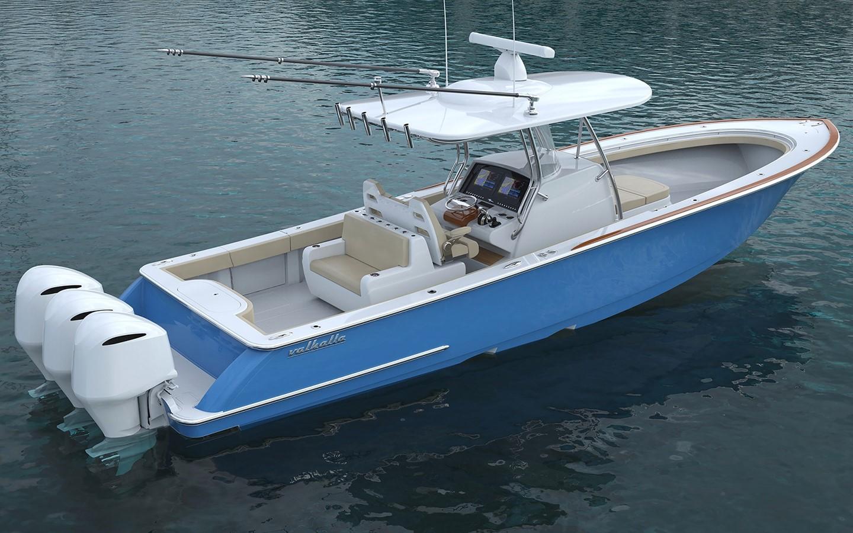 VIking Valhalla 37 On Order - 37 Valhalla Boatworks For Sale