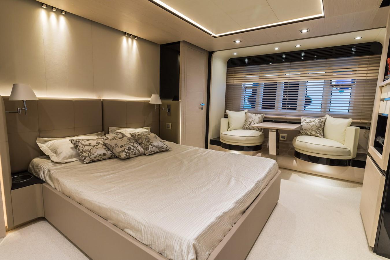 Owner's cabin 2016 AZIMUT 80 Motor Yacht 2668179