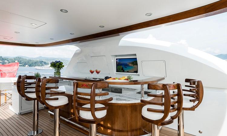 147' Sunrise 2014/2019 Sun Deck Cocktail Bar  2014 SUNRISE Tri Deck Motor Yacht  Motor Yacht 2673741
