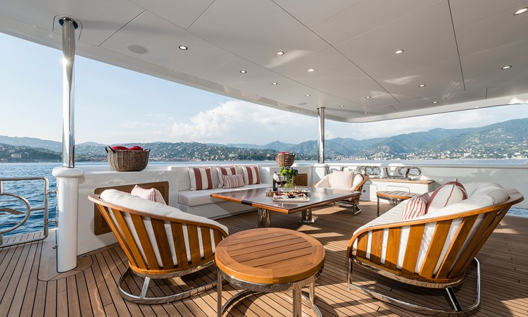 147' Sunrise 2014/2019 Aft Deck  2014 SUNRISE Tri Deck Motor Yacht  Motor Yacht 2673742