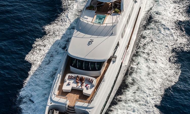 147' Sunrise 2014/2019 Aerial  2014 SUNRISE Tri Deck Motor Yacht  Motor Yacht 2673757