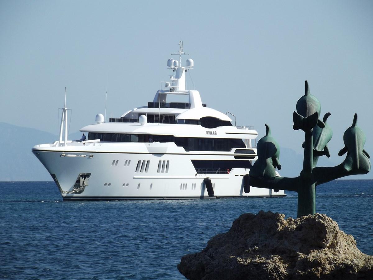 Irimari at anchor
