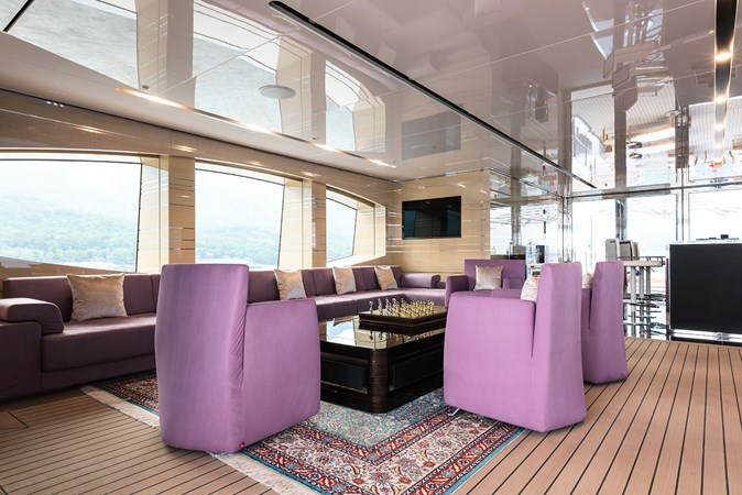 Sunrise 63m - Irimari - Sun Deck Lounge - 03 2015 SUNRISE  Motor Yacht 2680879