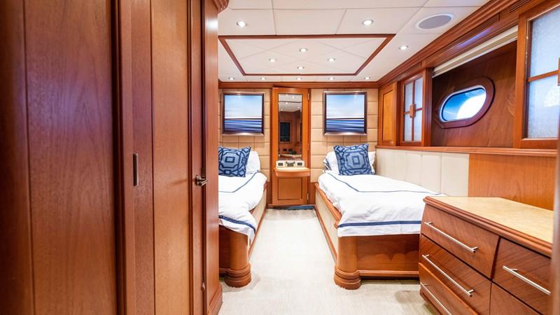 Twin Guest Stateroom  2008 TRINITY Tri-Deck Motor Yacht 2672524