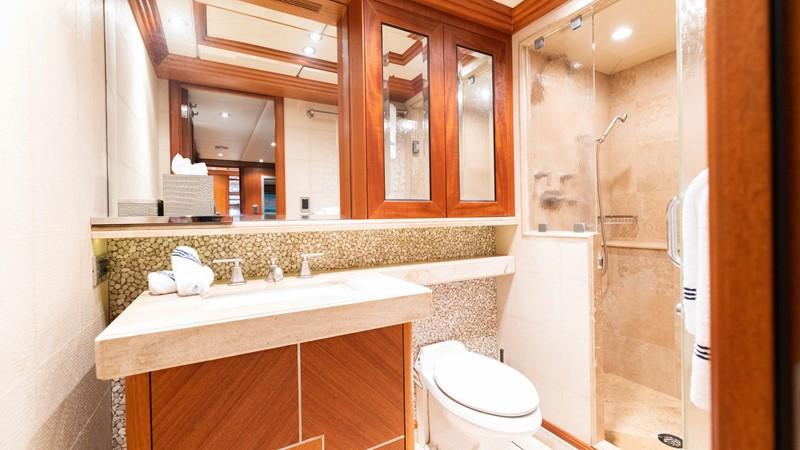 Gym Bath  2008 TRINITY Tri-Deck Motor Yacht 2672530