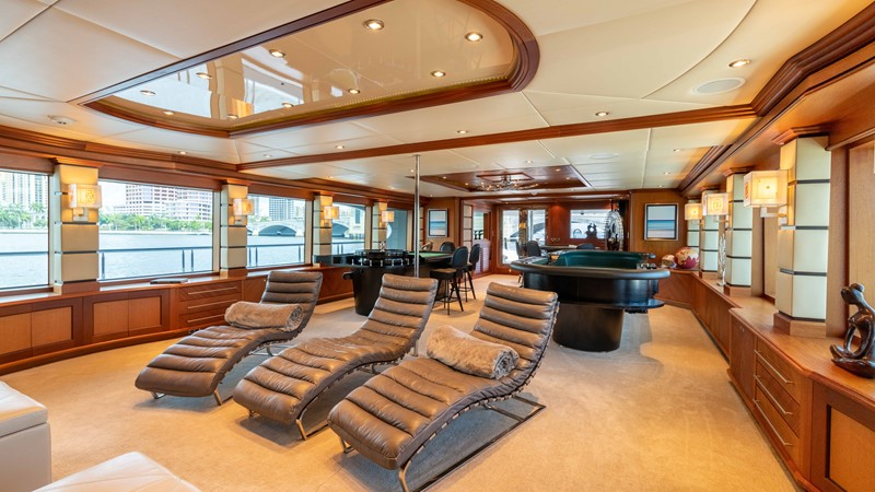 Salon Casino Seating  2008 TRINITY Tri-Deck Motor Yacht 2672535