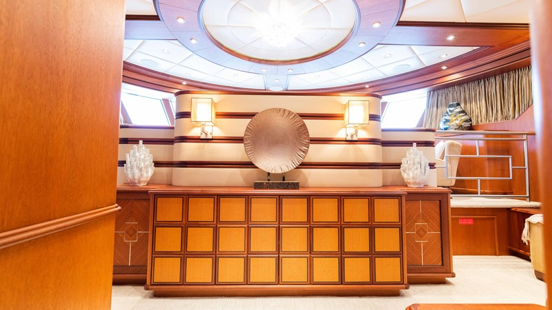 Master Stateroom - Entertainment Center 2008 TRINITY Tri-Deck Motor Yacht 2672540