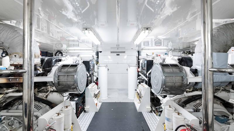 Engine Room  2008 TRINITY Tri-Deck Motor Yacht 2672595