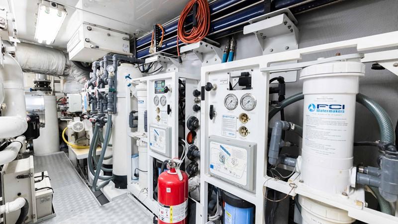 Engine Room  2008 TRINITY Tri-Deck Motor Yacht 2672596