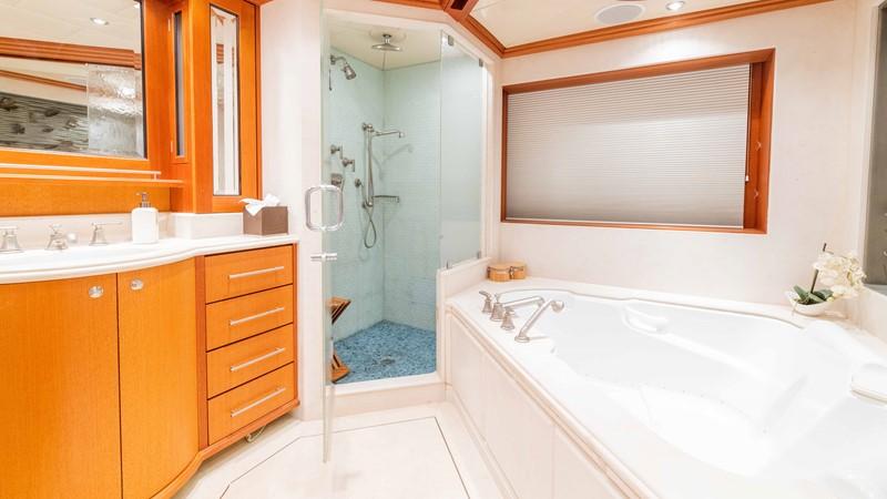 Master Bath - Hers 2008 TRINITY Tri-Deck Motor Yacht 2674053