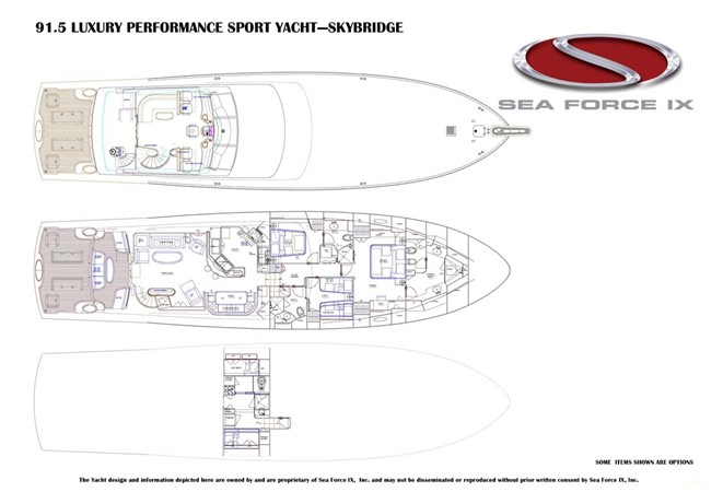 2010 SEA FORCE IX Sport Fisherman Motor Yacht 2670882
