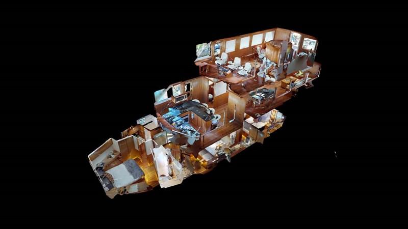 2a 2020 PRESIDENT YACHTS 870 Tri Deck LRC Motor Yacht 2775495
