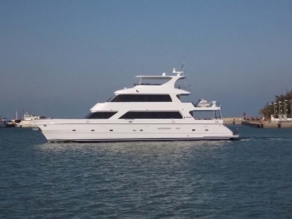 1 Profile 2020 PRESIDENT YACHTS 870 Tri Deck LRC Motor Yacht 2775496