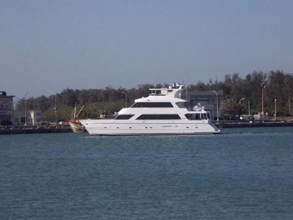 870farprofile 2020 PRESIDENT YACHTS 870 Tri Deck LRC Motor Yacht 2775502