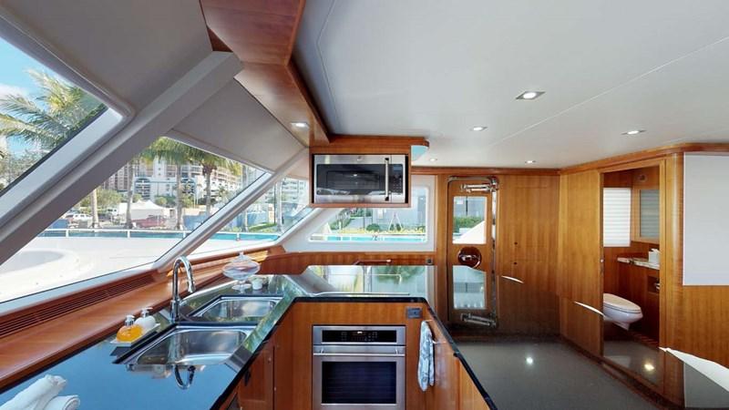 8c galley 2020 PRESIDENT YACHTS 870 Tri Deck LRC Motor Yacht 2775518