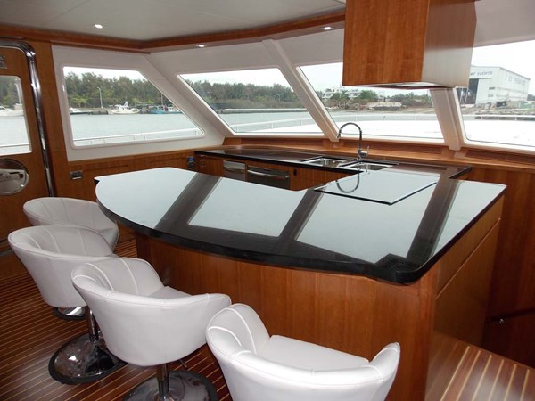 8e Galley and Pedestal Chairs 2020 PRESIDENT YACHTS 870 Tri Deck LRC Motor Yacht 2775527