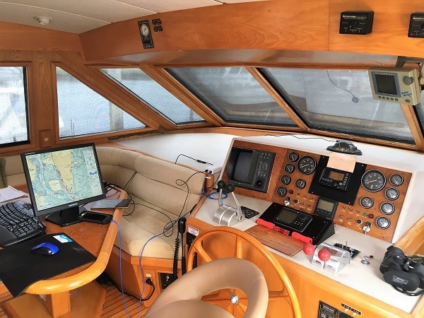 1991 OCEAN ALEXANDER Cockpit Pilot House Motor Yacht 2673260