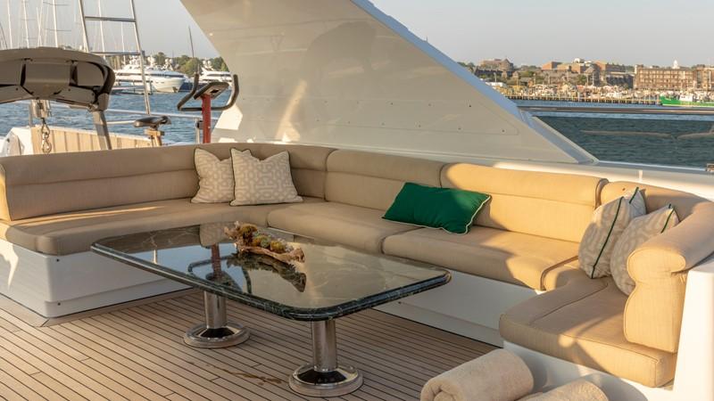 SUN DECK SEATING  2001 CHRISTENSEN Tri Deck Motor Yacht  Motor Yacht 2673699