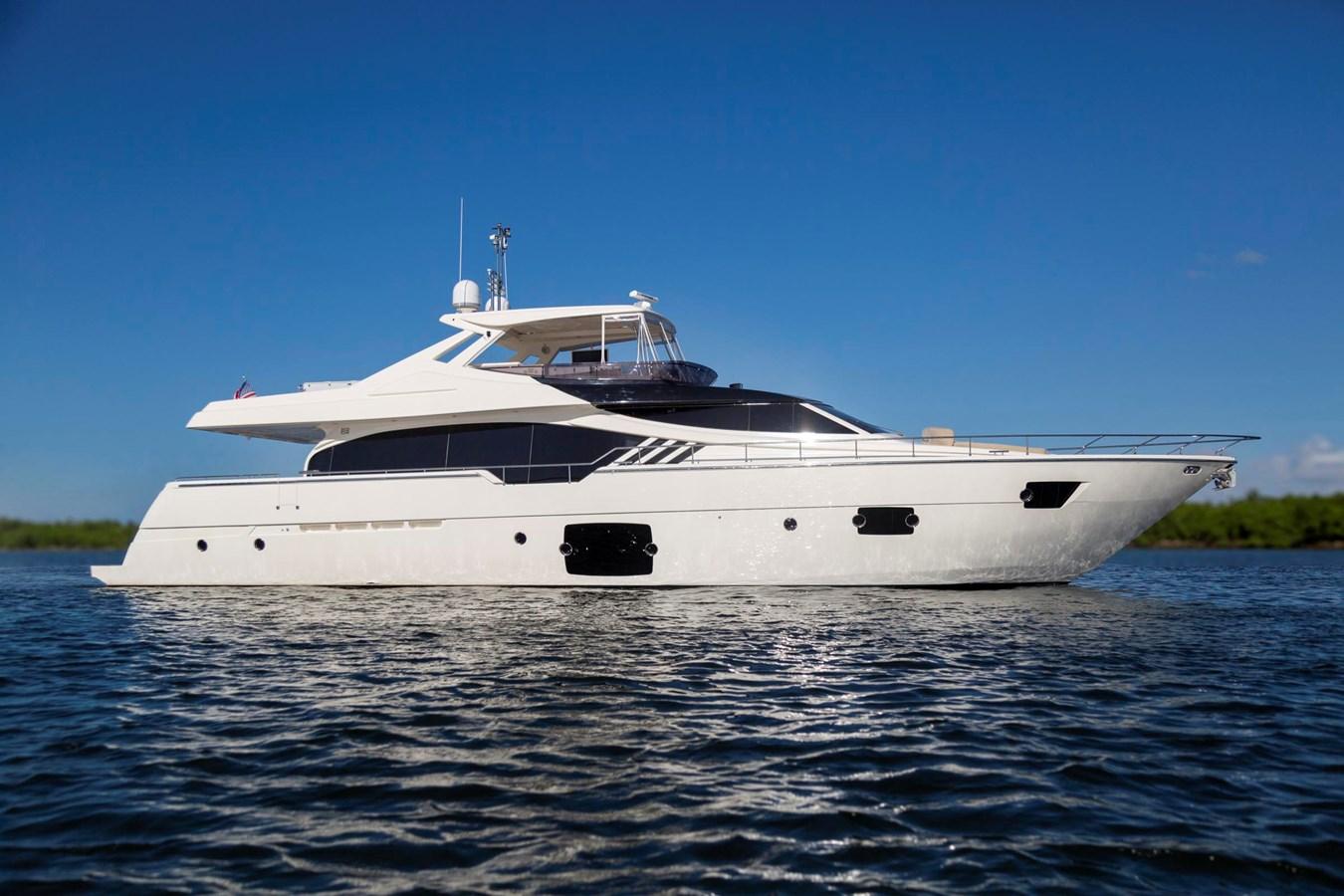 TRUE 87' Ferretti Profile  2013 FERRETTI YACHTS 870 FLYBRIDGE High Performance 2722054