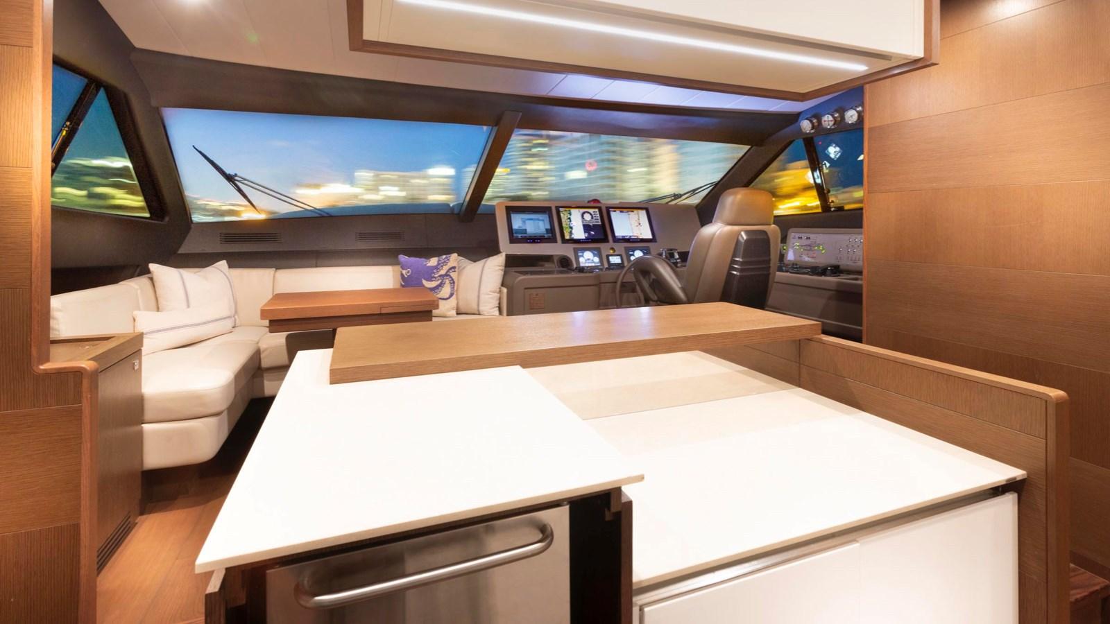 Galley 2013 FERRETTI YACHTS 870 FLYBRIDGE High Performance 2722106