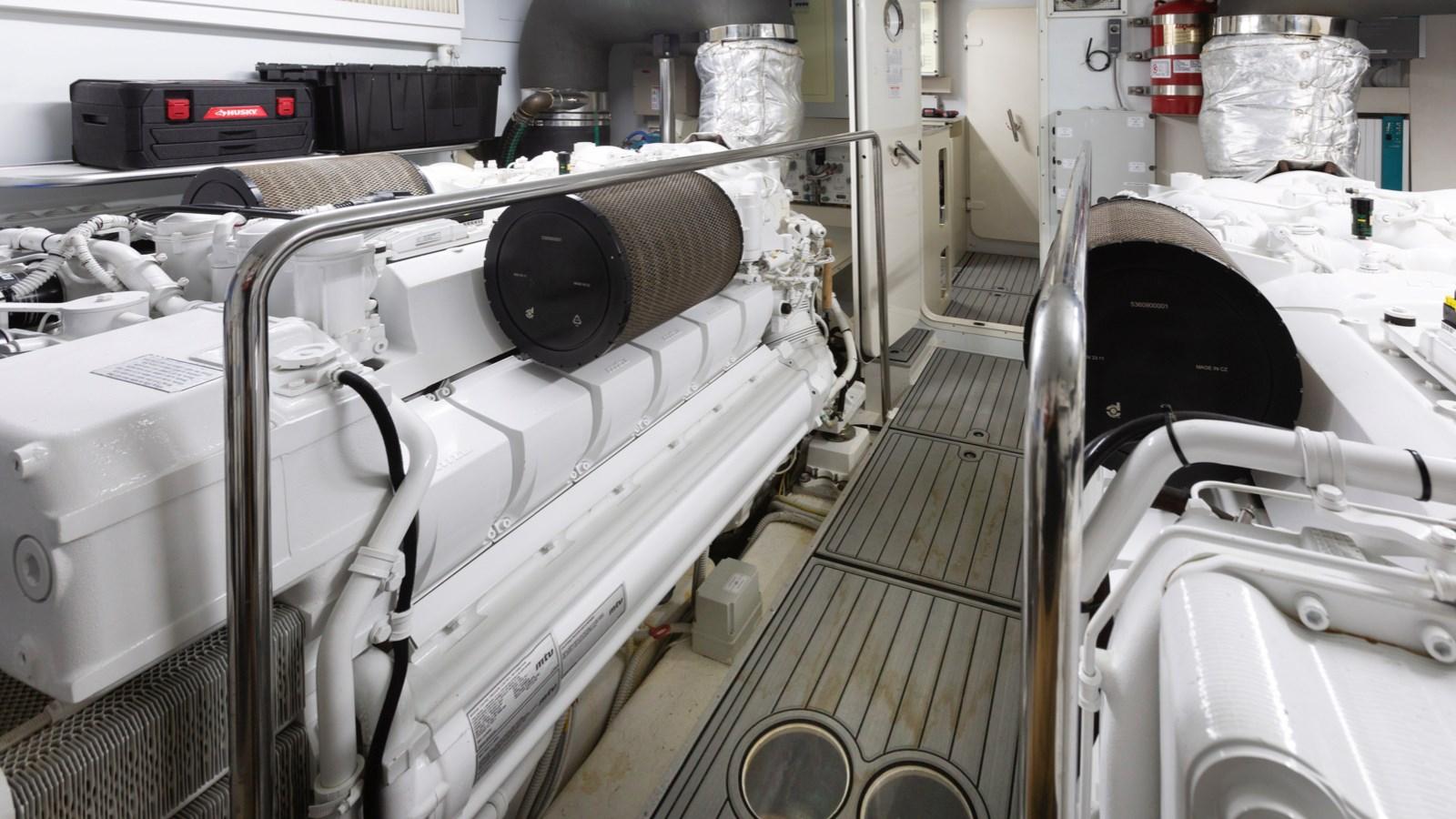 Engine Room 2013 FERRETTI YACHTS 870 FLYBRIDGE High Performance 2732841