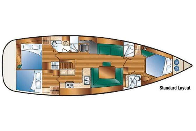 2009 HUNTER 50 Cruising Sailboat 2673898