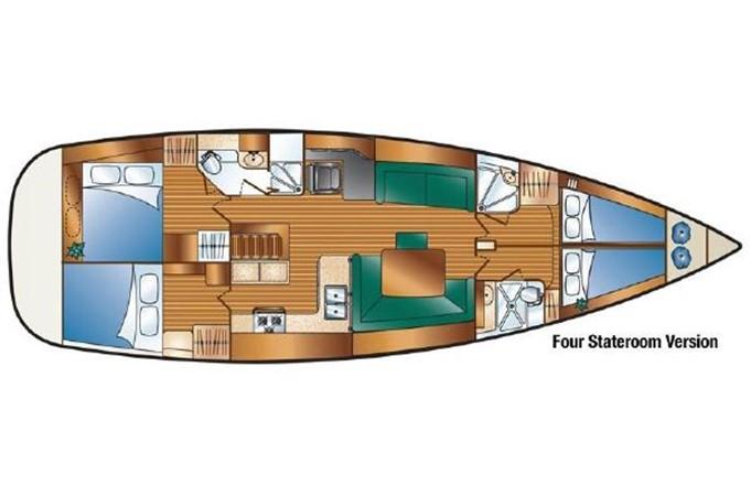 2009 HUNTER 50 Cruising Sailboat 2673899