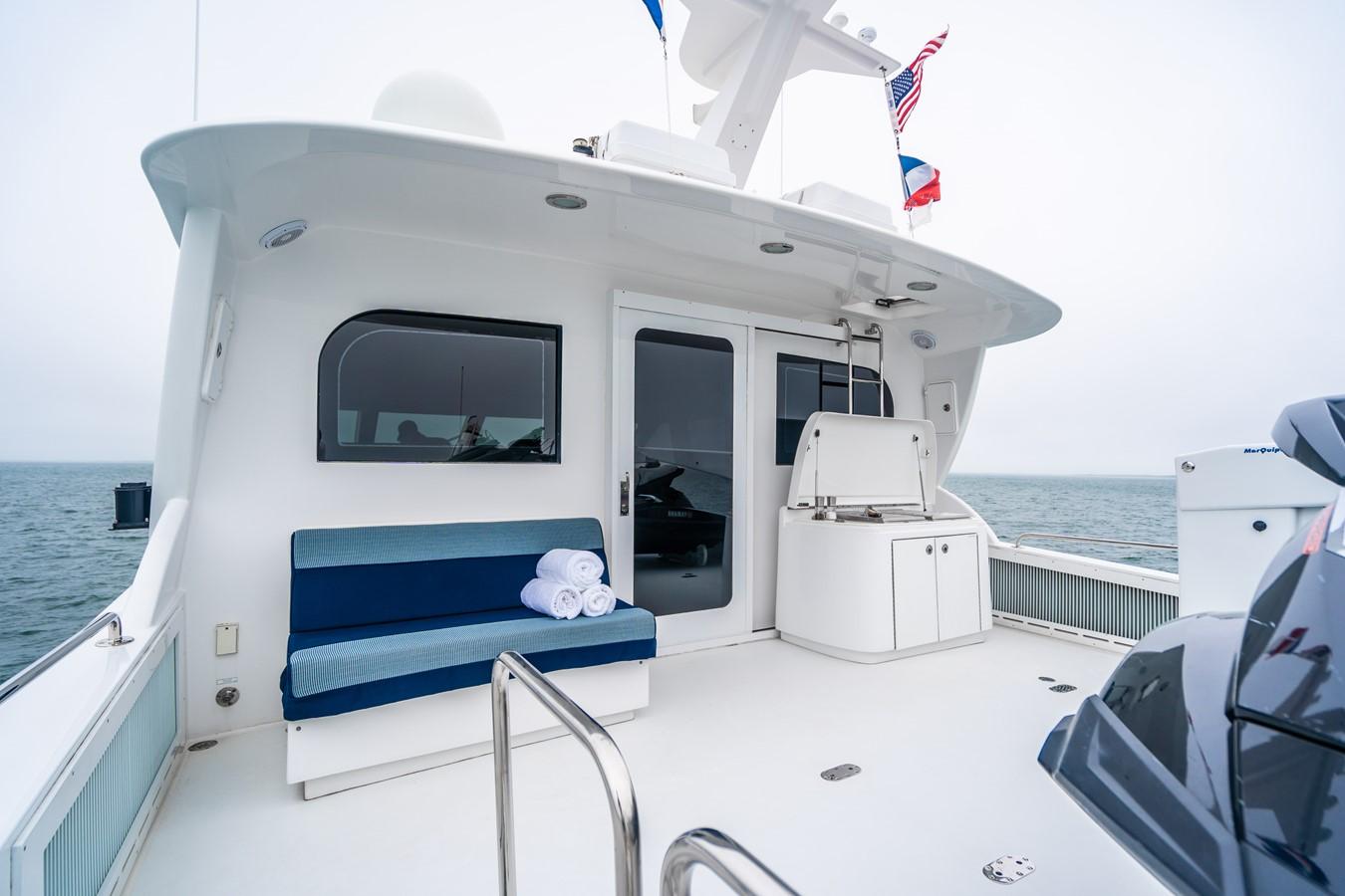 2011 HATTERAS Enclosed Bridge Motor Yacht 2679269