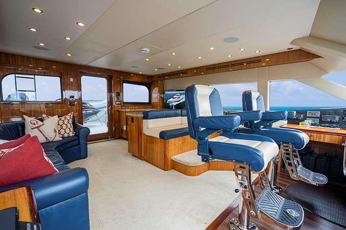 2011 HATTERAS Enclosed Bridge Motor Yacht 2678464