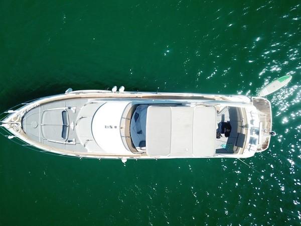 View from above 2003 SUNSEEKER Manhattan 74 Motor Yacht 2674095