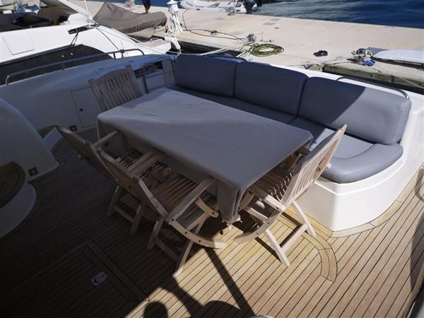 Aft Deck to starboard 2003 SUNSEEKER Manhattan 74 Motor Yacht 2674104