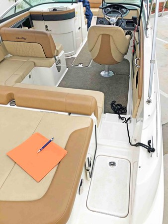 2015 SEA RAY 240 SunDeck Deck Boat 2674242