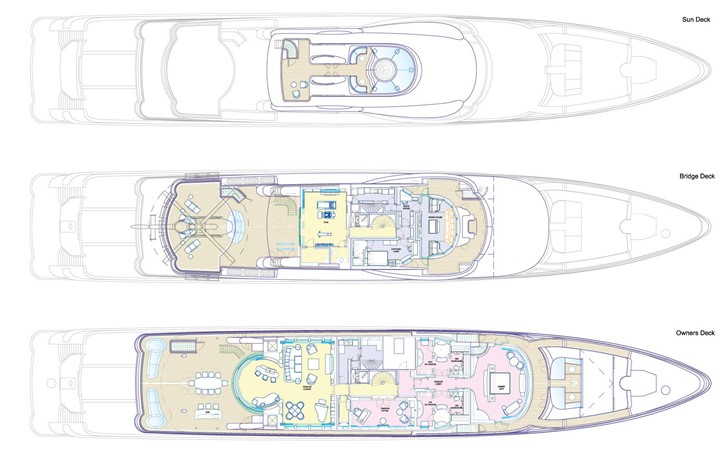 2016 AMELS Limited Edition 242 Mega Yacht 2682165