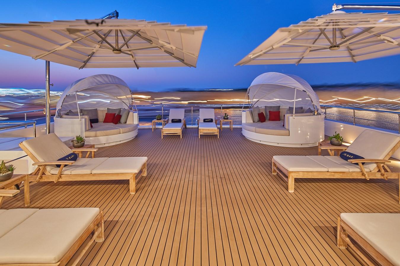 Sun deck 2015 SUNRISE  Mega Yacht 2968886