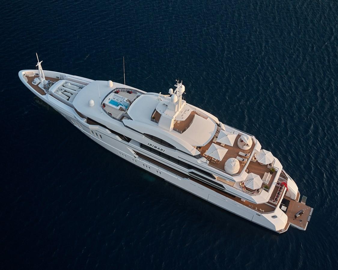 At anchor above port side 2015 SUNRISE  Mega Yacht 2968891