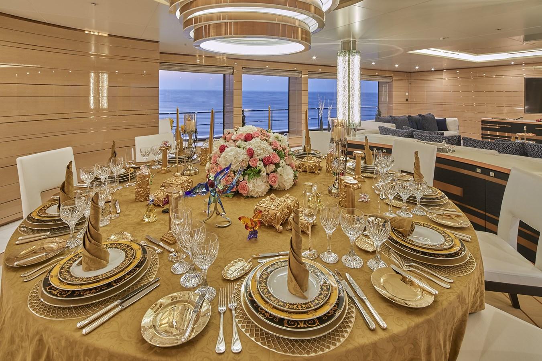main deck dining 2015 SUNRISE  Mega Yacht 2968911