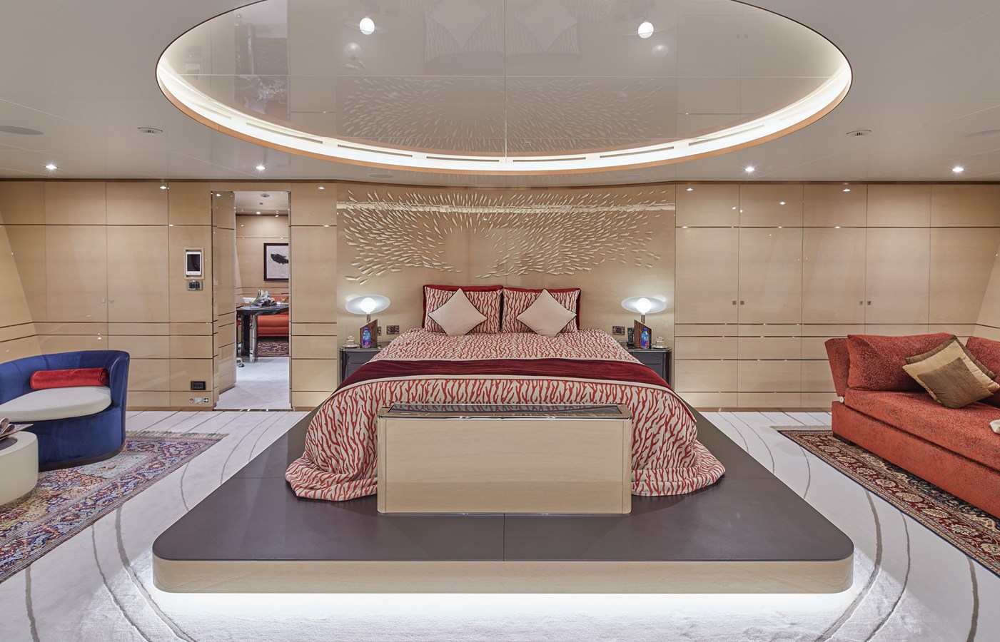 Master cabin 2015 SUNRISE  Mega Yacht 2968915