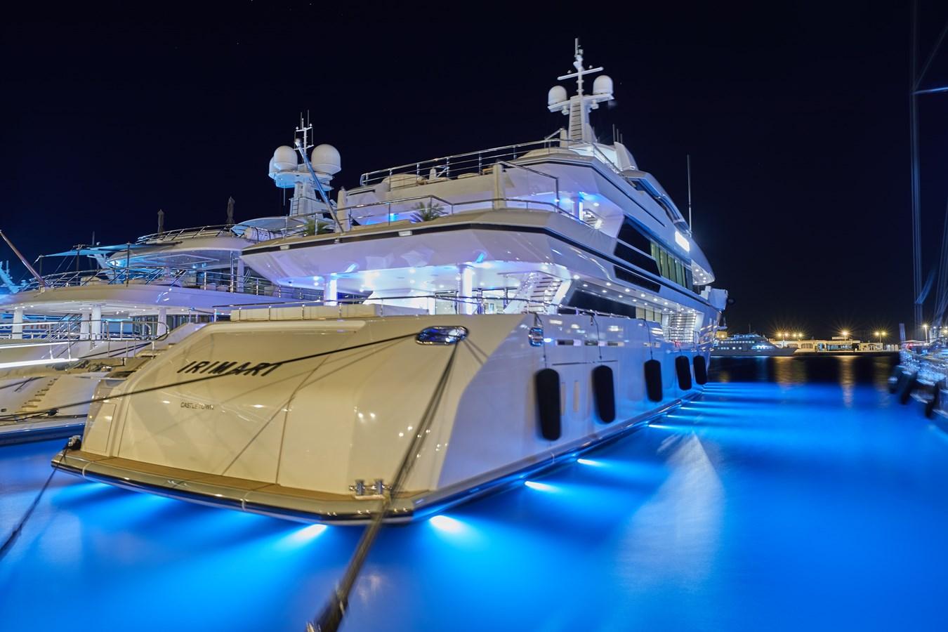 Moored at night 2015 SUNRISE  Mega Yacht 2968916