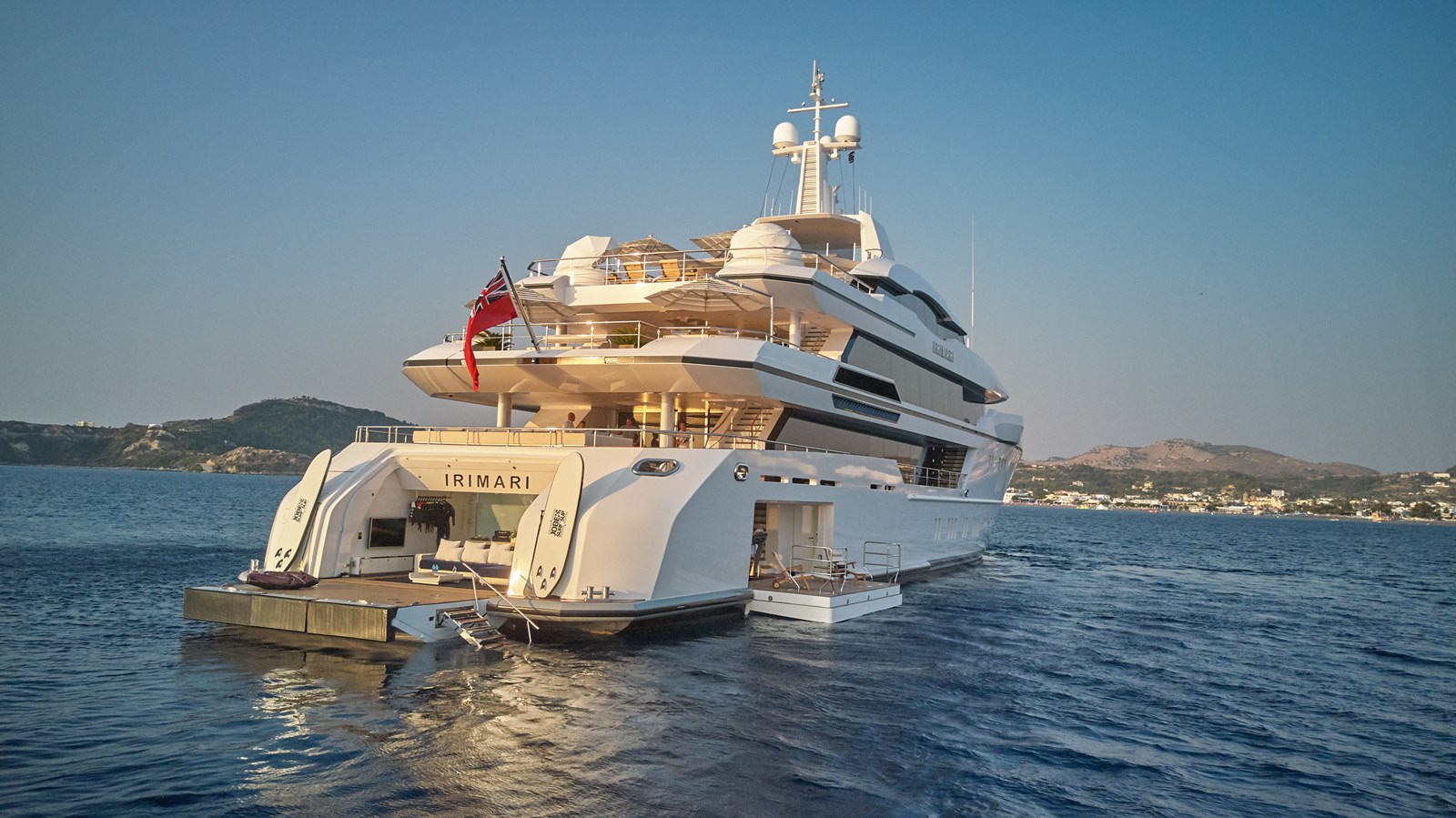 Stb hull from water (2) 2015 SUNRISE  Mega Yacht 2968924